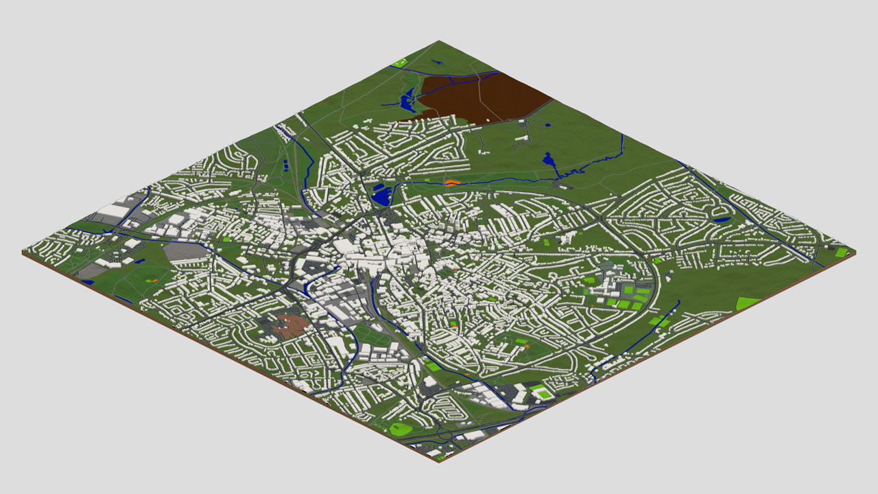Walsall in Minecraft